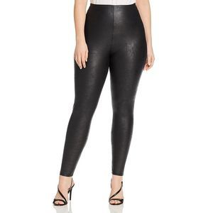 Lysse Textured Faux Leather Leggings Large